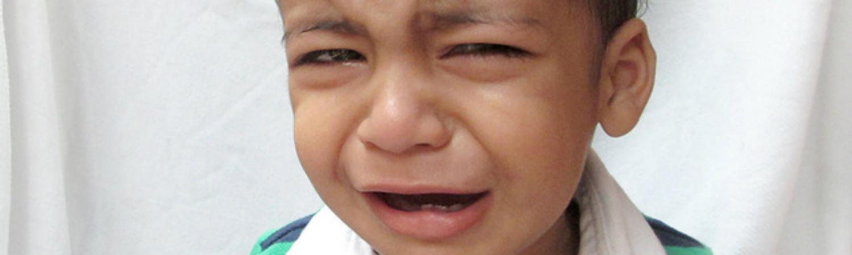 L'enfant qui pleure souvent