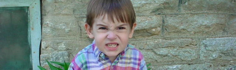 L'enfant qui s'oppose